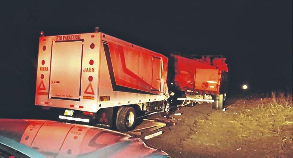 Un muerto deja accidente de tránsito en la vía Piura-Olmos