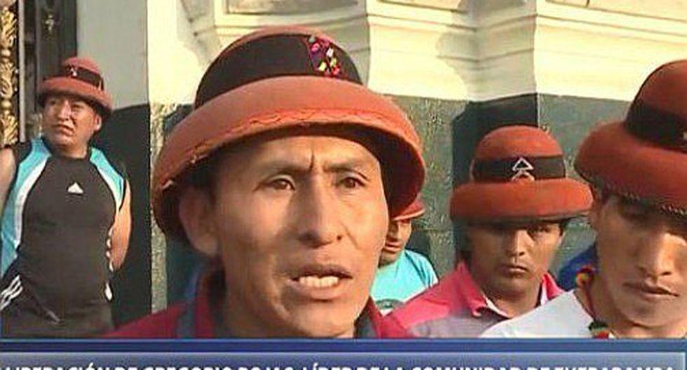 Las Bambas: Minera se pronuncia tras liberación de Gregorio Rojas