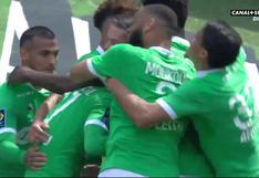 Miguel Trauco reapareció en Saint-Étienne con magnífica asistencia (VIDEO)