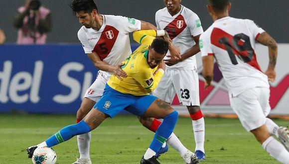 Perú perdió 4-2 ante Brasil en el Estadio Nacional por las Eliminatorias sudamericanas. (Foto: EFE)