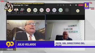 Julio Velarde prevé que tipo de cambio se estancará en S/4.10 hasta el 2022 (VIDEO)