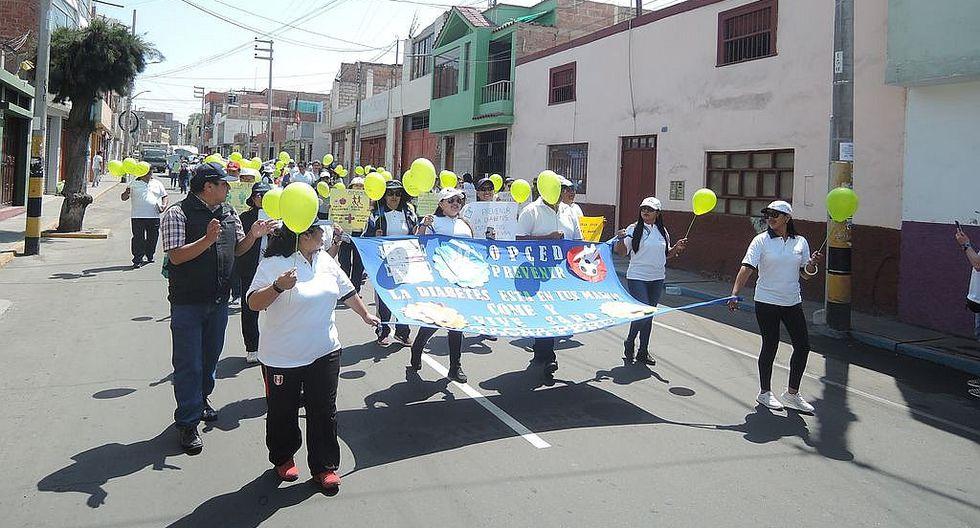 Casi 3 mil asegurados SIS de Tacna tienen diabetes