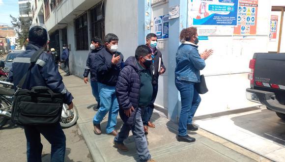 Dirigentes de los trabajadores habían pedido su cambio en una manifestación el miércoles. (Foto: Correo)