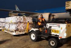 Perú recibió este lunes un lote de 748.800 dosis de la vacuna Pfizer