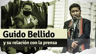 Guido Bellido: los incidentes que ha tenido el primer ministro con los medios de comunicación