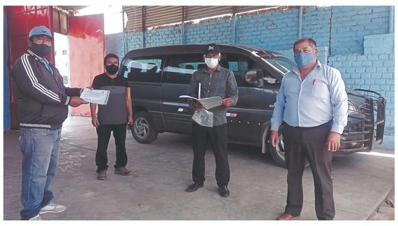 Transportistas que cubren la ruta a Ferreñafe, Batangrande, Pampagrande u otros denuncian maltrato.