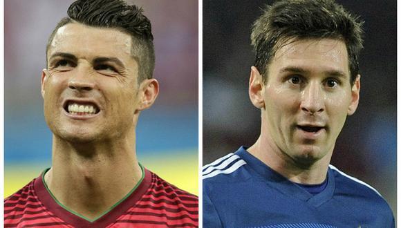 Así se saludaron Messi y Cristiano Ronaldo tras última polémica (VIDEO)