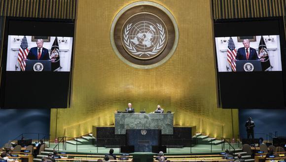 ONU se pronuncia sobre manifestaciones . (Foto: Eskinder DEBEBE / UNITED NATIONS / AFP).