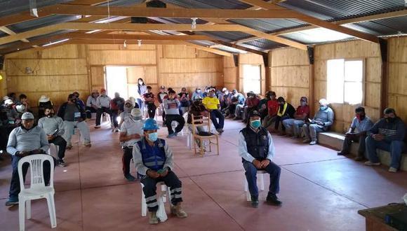 Han capacitado a más de 900 mineros artesanales a nivel de la región Arequipa (Foto: Difusión)