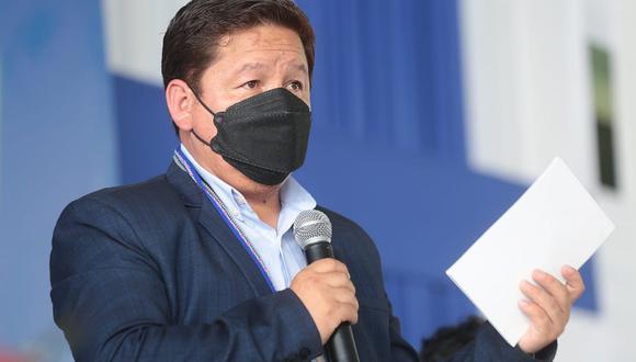 Primer Guido Bellido durante el GORE Ejecutivo en Loreto. (Foto: PCM)