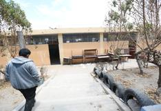 Padres de familia rechazan las clases semipresenciales hasta que arreglen colegio en Arequipa