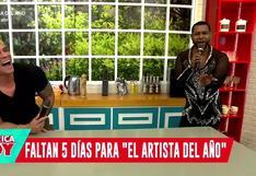 """'Giselo' le dice a Janet Barboza que es """"el más talentoso"""" del programa, pero ella le responde así (VIDEO)"""