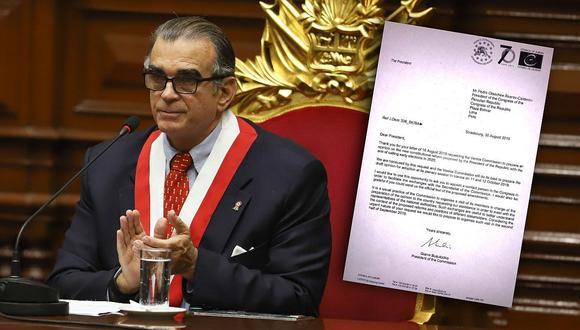 Adelanto de elecciones: Comisión de Venecia propone venir a Perú tras consulta de Pedro Olaechea