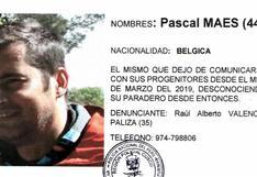 Agentes de Lima llegan a Cusco para buscar a turista belga desaparecido