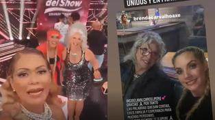 """Gisela Valcárcel presenta a la mamá de Brenda Carvalho: """"Qué linda es"""" (VIDEO)"""