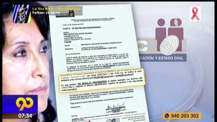 Dina Boluarte acusa a Reniec de silencio administrativo y busca licencia de 5 años sin goce de haber