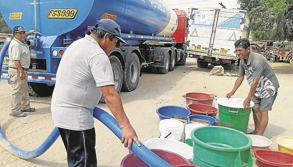 Piden reforzar acciones por falta de agua en Pacora y Mochumí desde hace más de 20 días