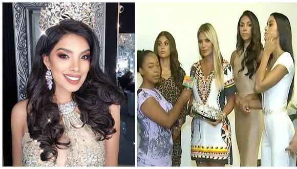Jessica Newton presentó a la joven que sería la sucesora de la Miss Perú Anyella Grados (VIDEO)