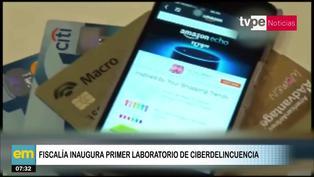 Fiscalía de la Nación inaugura el primer laboratorio de ciberdelincuencia en el país