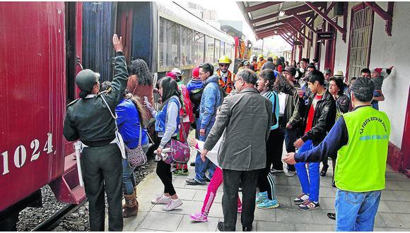 Este viernes el tren turístico recorrerá Huancayo, Concepción hasta Jauja