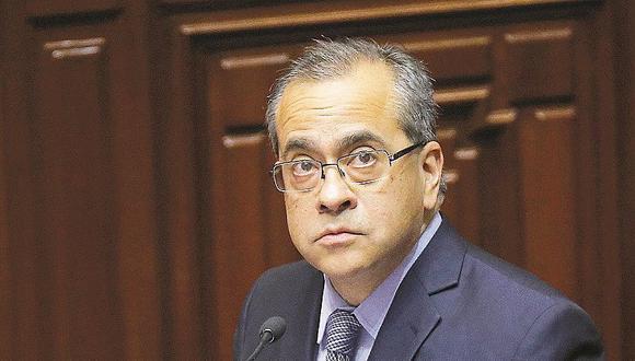 Ministro Jaime Saavedra fue censurado por el Congreso