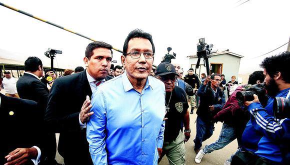 Ministerio Público solicita aumentar de 5 a 11 años la pena contra Félix Moreno