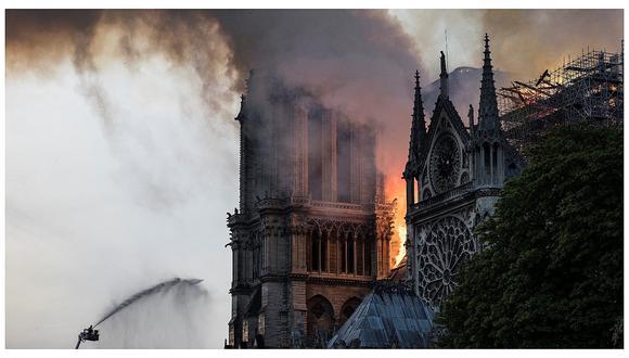 Gobierno peruano lamentó el incendio ocurrido en la catedral parisina de Notre Dame