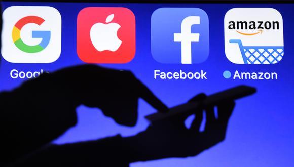 Empresas globales como Amazon, Google o Facebook serán las más afectadas. (Foto: AFP)