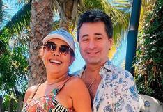 Alfredo Zambrano, esposo de Magaly Medina, cantó en isla de Croacia para celebrar Fiestas Patrias