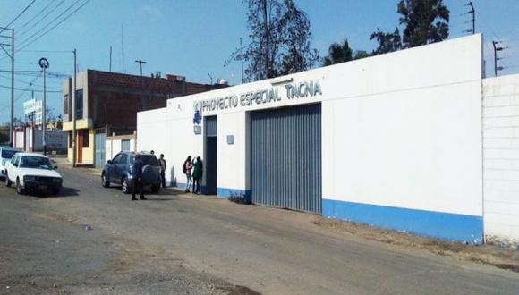 Proyecto Especial Tacna confirma que trabajos en obra hídrica se encuentran detenidos. (Foto: Difusión)