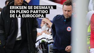 Eurocopa 2020:Christian Eriksen se desmayóen pleno partido contra Finlandia