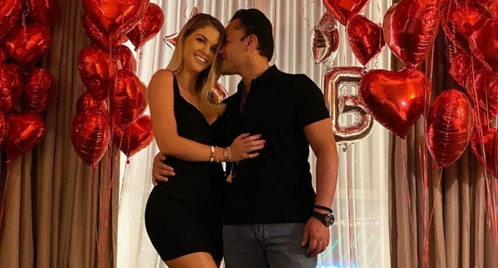 Brunella Horna sorprende a su pareja Richard Acuña por su cumpleaños (FOTOS)