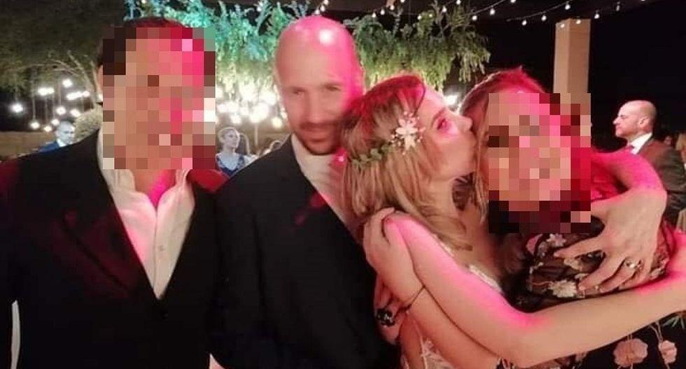 Juliana Oxenford: Las primeras fotografías con su vestido de boda (FOTOS)