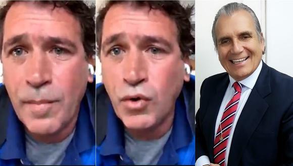 Rafael Santos, excandidato presidencial, adelantó que iba a presentar una demanda contra Ricardo Noriega.   Foto: Composición Facebook - Contigo TV.