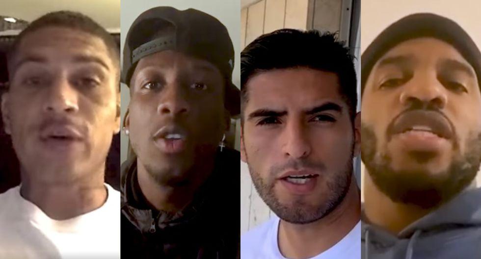 Jugadores de la selección peruana envían recomendaciones ante presencia del coronavirus en el país (Foto: captura video FPF)