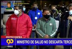 """Ministro de Salud: """"Hay un leve ascenso de cantidad de casos de COVID-19 en el Perú"""" (VIDEO)"""