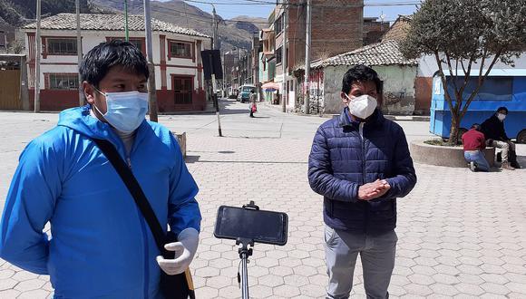 Huancavelica: Familiares de internados COVID - 19 exigen atención de parte de los médicos