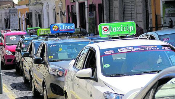 Alistan sanción y nulidad de Setare a taxis