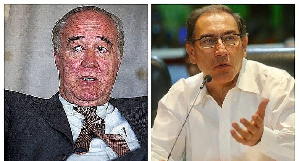 """Víctor García Belaúnde a Vizcarra: """"Si quiere un Congreso de rodillas, no cuente conmigo"""""""