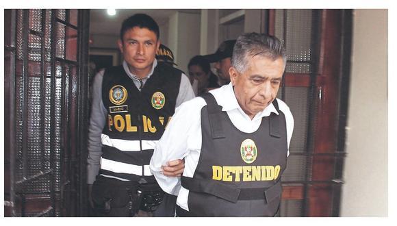 Trasladan a David Cornejo al penal de Piedras Gordas
