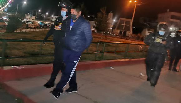 El individuo fue retenido por las autoridades policiales. (Foto: Difusión)
