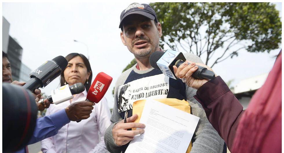 Caso Keiko Fujimori: Mark Vito Villanella presentó documento ante Embajada de EE.UU.