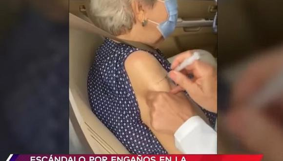 "Escándalo en Brasil por ""vacunas de aire"". (Foto: captura YouTube Telemundo)"