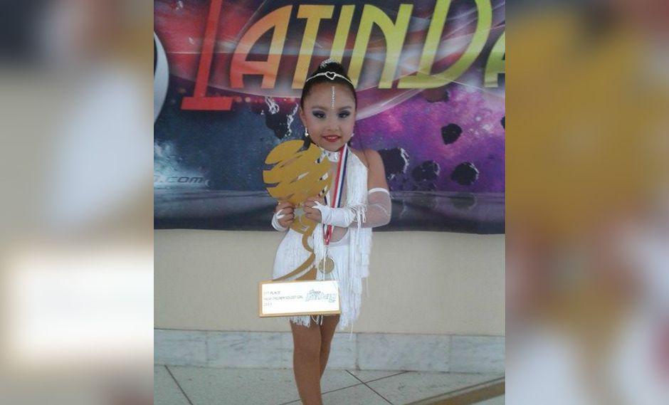 Peruana de seis años obtiene título mundial de salsa en campeonato de Miami (VIDEO)