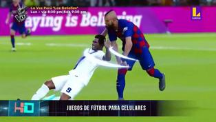Videojuegos de fútbol para teléfonos celulares