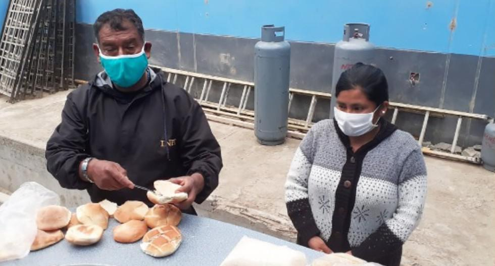 Mujer trató de ingresar a penal de Arequipa con marihuana oculta en panes