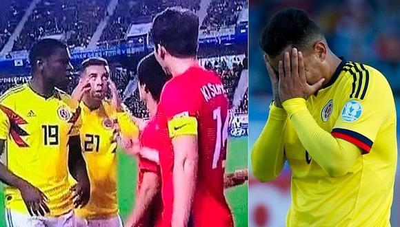 FIFA sancionó a colombiano Edwin Cardona por gesto racista contra jugador coreano (VIDEO)