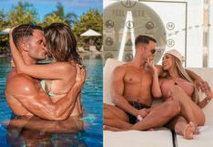 Paula Manzanal y Fabio Agostini publican románticas fotos