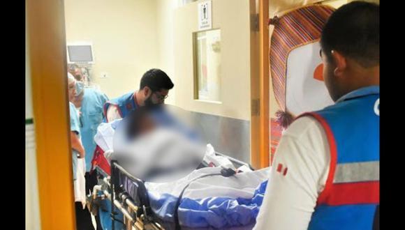 Arequipa: Anciano sufre quemaduras de segundo grado por deflagración de balón de gas (Foto: Archivo)