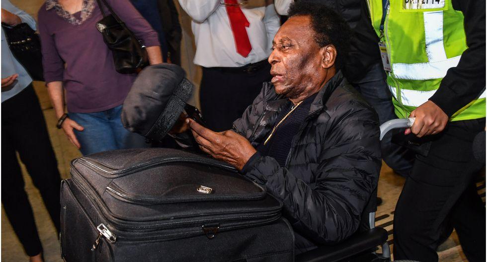 Pelé se pronunció tras afirmaciones de su hijo sobre depresión
